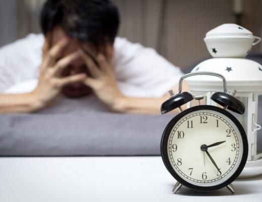 Jak usnout během několika minut